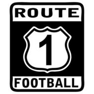 route 1 football Tee